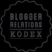 Blogger Relations Kodex